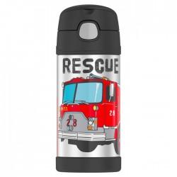 Termos pentru copii cu pai - pompieri