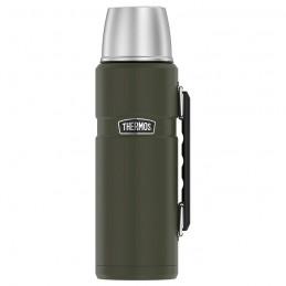 Termos pentru băuturi cu mâner - verde armată
