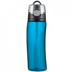 Sticlă pentru hidratare cu abac - albastru deschis