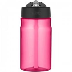 Sticlă pentru copii cu pai pentru hidratare - roz