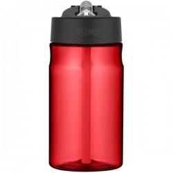Sticlă pentru copii cu pai pentru hidratare - roșu